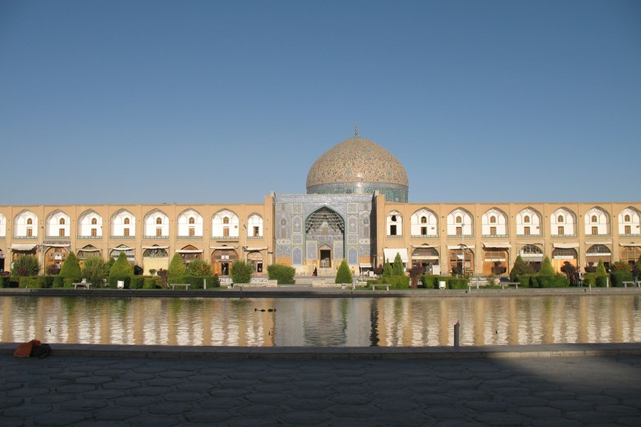 Emam-pladsen i Isfahan. Foto Kirsten Gynther Holm
