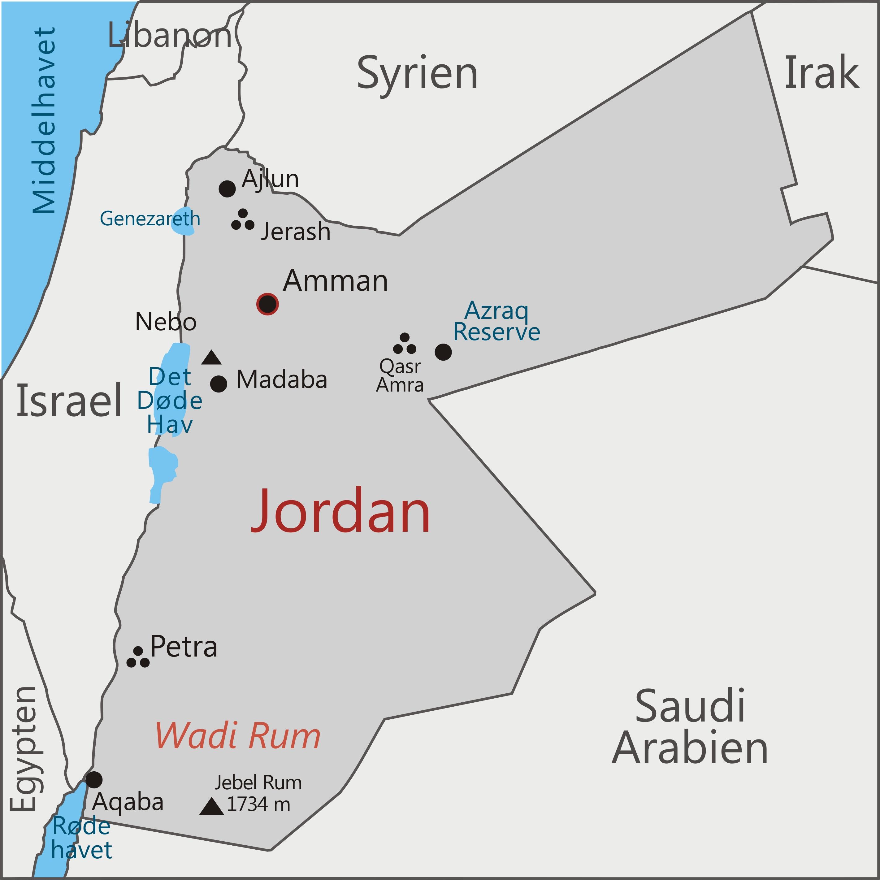 Rejser Til Jordan Tag Pa En Magisk Rejse Til Jordan Med Viktors