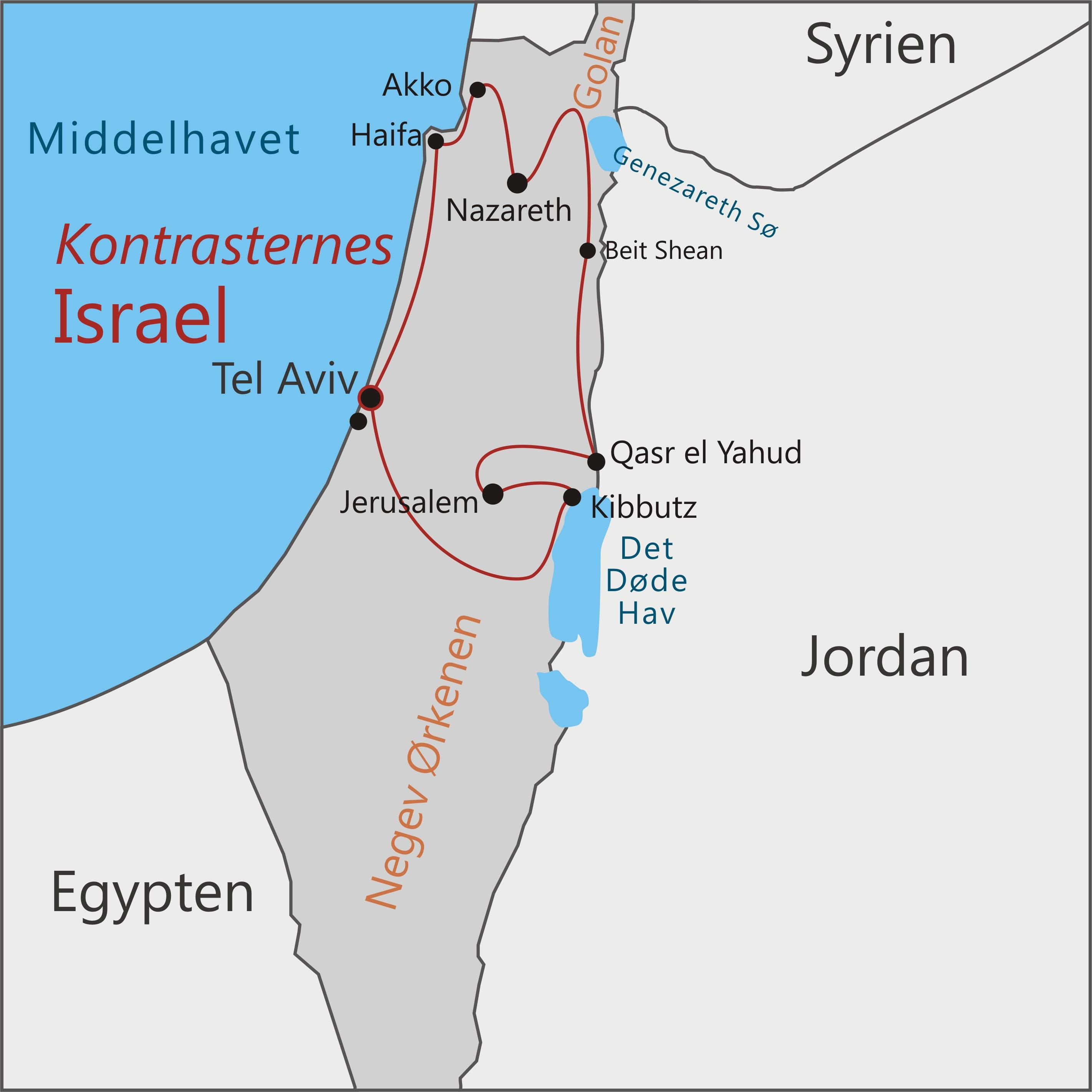 Kontrasternes Israel Med Hans Henrik Fafner Og Viktors Farmor